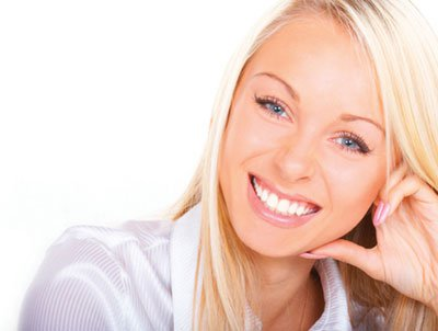 Beautiful Smile on a lady